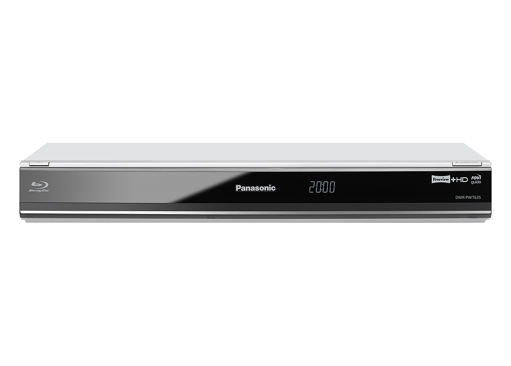 Panasonic DMR-PWT635 Smart 3D Blu-ray Player with Freeview+ HD 1TB HDD Recorder